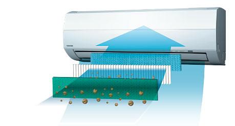 Сплит-система Toshiba фильтр