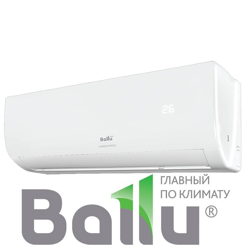 Настенный кондиционер Ballu BSVP-24HN1 серия VISION PRO со склада в Астрахани, для площади до 70м2. Официальный дилер!