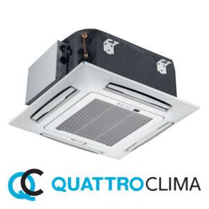 Кассетный кондиционер QuattroClima QV-I18CF QN-I18UF QA-ICP7 со склада в Астрахани, для площади до 51 м2. Официальный дилер!
