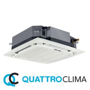 Кассетный кондиционер QuattroClima QV-I48CF QN-I48UF QA-ICP8 со склада в Астрахани, для площади до 140 м2. Официальный дилер!