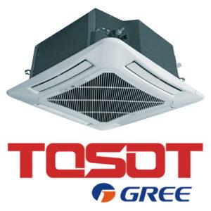Кассетный кондиционер TOSOT T60H-LC3-I T60H-LU3-O TF06P-LC со склада в Астрахани, для площади до 150 м2. Официальный дилер!