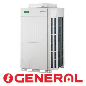 Инверторный наружный блок мультизональной VRF системы General AJH144GALH со склада в Астрахани серия VR II для площади до 450 м2. Бесплатная доставка. Звоните!