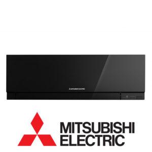 Инверторный настенный внутренний блок мульти сплит-системы Mitsubishi Electric MSZ-EF25VEB со склада в Астрахани серия Design Inverter для площади до 25 м2. Бесплатная доставка. Звоните!